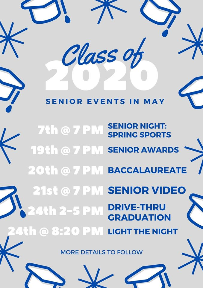 Senior Events in May
