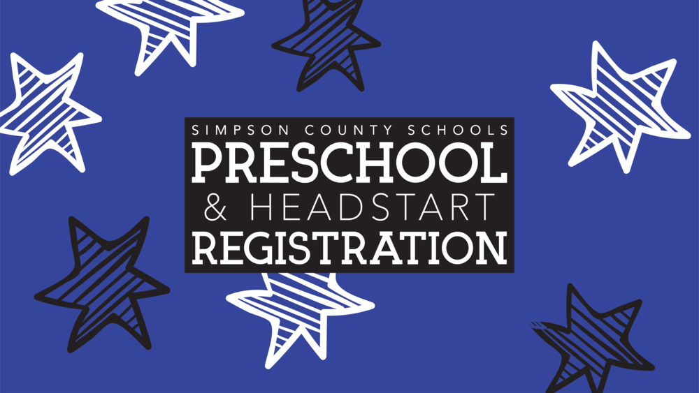 Preschool & Headstart Registration Dates Added
