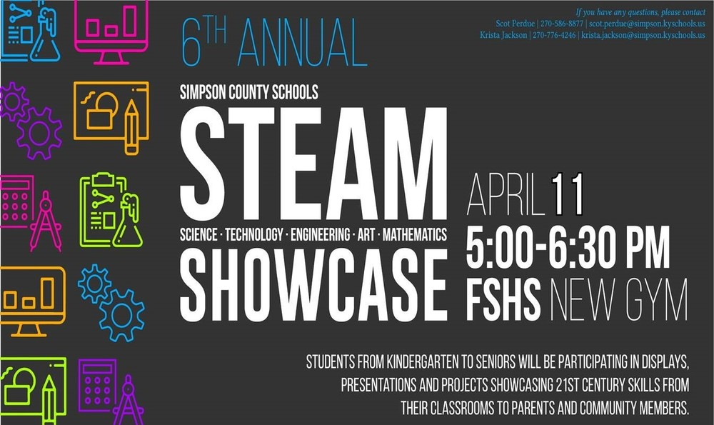 6th Annual STEAM Showcase