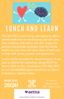 Postponed until a later date! Lunch and Learn on March 13th (11:30-12:30)