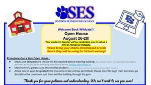 Simpson Elementary Open House