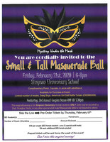 Small & Tall Masquerade Ball