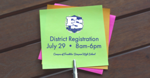 19-20 District Registration
