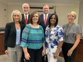 Simpson County school board honored this month