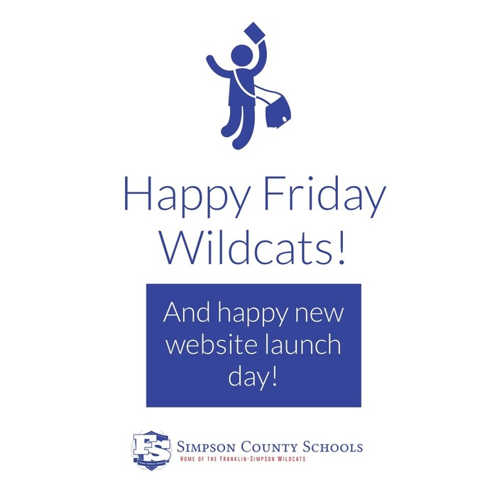 Happy Friday Wildcats! And Happy New Website Launch Day!!
