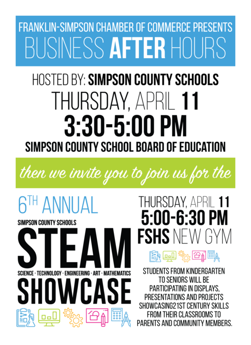Business After Hours and STEAM Showcase