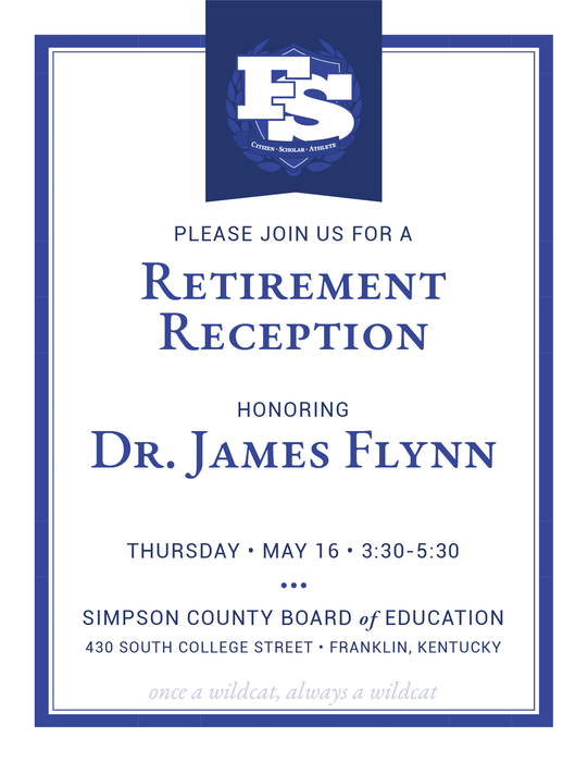 Retirement Reception - Dr. Flynn