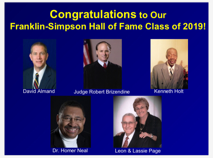 2019 Class of the FS Hall of Fame!